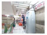 Kios 2 Unit di Tanah Abang Blok A lt.7, L:10,41 MURAH
