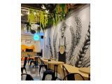 Disewakan / Bagi Hasil Cafe, Siap jualan, Lokasi Depok, full perabotan dan furniture